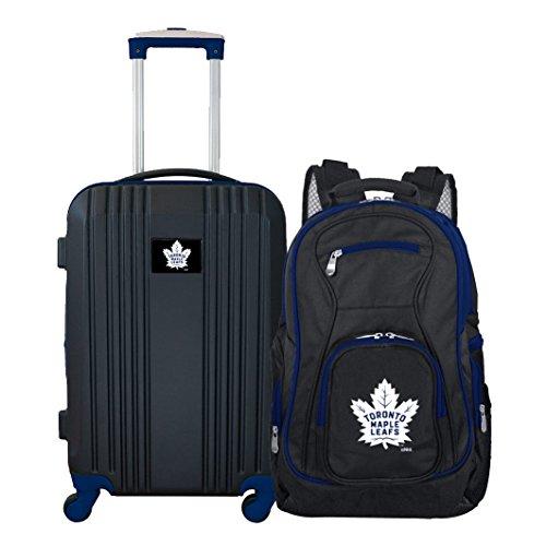 (NHL Toronto Maple Leafs 2-Piece Luggage Set)