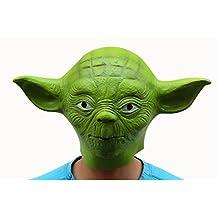 OM(TM) Latex Star Wars Master Green Yoda Mask-Halloween Costumes