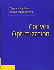 Convex optimization problems arise frequently in many different fields. A comprehensive introduction to the subject, this book shows in detail how such problems can be solved numerically with great efficiency. The focus is on recognizing conv...
