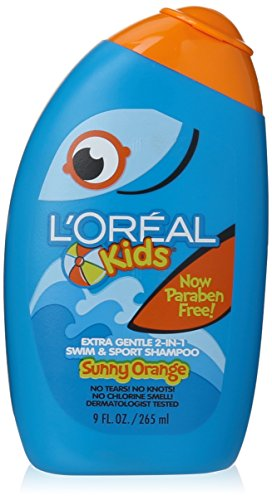 L'Oreal Kids Sh Swim Orng Size 9z L'Oreal Sunny Orange Kids