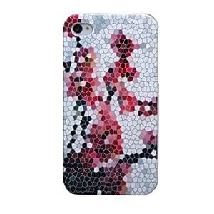 JJEPlum Flower Designed Case for iPhone 4/4S