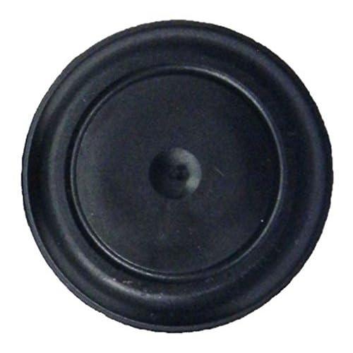 "1 1//2/"" 1.5 inch Flush Mount Black Plastic Body and Sheet Metal Hole Plug Qty 10"