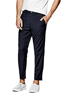 Nolan Twill Cropped Trousers
