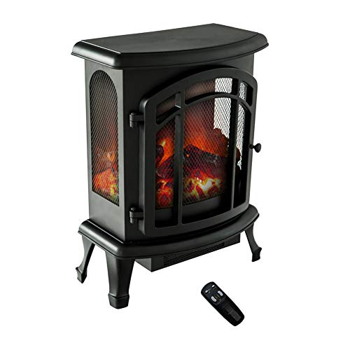 wood stove electric heater - 2