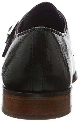 Melvin&Hamilton Lance 1 - Zapatos clásicos Hombre, Negro (Classic Negro), 41