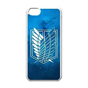 Classic theme pattern ATTACK ON TITAN for iPhone 5C Phone Case KCCTAOT962601