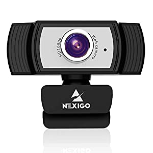 Flashandfocus.com 41LM492aNfL._SS300_ 1080P Webcam with Microphone and Software, 2021 NexiGo Streaming Computer Camera, for Zoom Meeting/Skype/FaceTime/Teams…