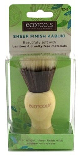 Ecotools Acabado Kabuki Brush Paquete de 2 Paris Presents PP1246