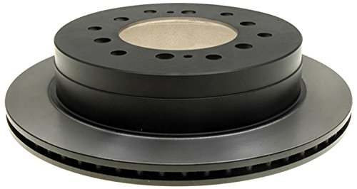 ACDelco 18A1227A Advantage Non-Coated Rear Disc Brake Rotor