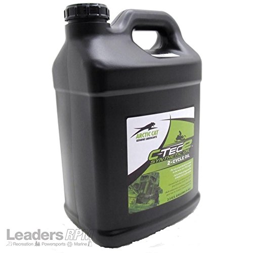 Arctic Cat OEM 2-Cycle Synthetic Injector Oil C-Tec2 2.5 Gallons 6639-521 (2 Cat Cycle Oil Arctic)