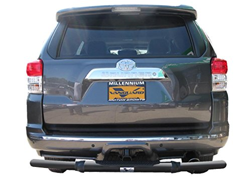 Vanguard VGRBG-1292-0754BK 2003-2017 Toyota 4Runner Rear Bumper Guard Single Tube B/K ()