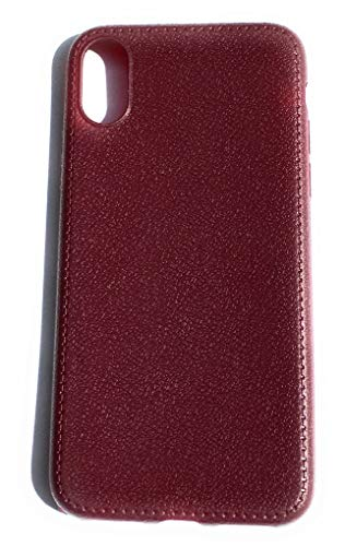 Hewlett Packard Back Cover - HP`s Super Thin Comfortable Back Cover Leather Case for Apple iPhone X/XS