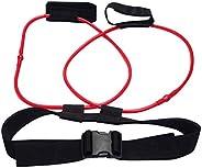 LISJFS Fitness Training Resistance Belt Leg Strength Training Muscle Belt Band