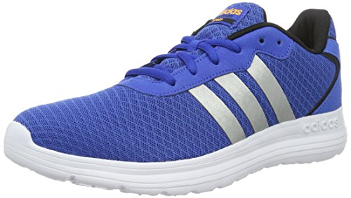 Les Hommes Adidas Cloudfoam Chaussures De Sport Vitesse, Blanc / Jaune (maruni Ftwbla Amasol), Taille Bleu (bleu Plamat Dorsol)