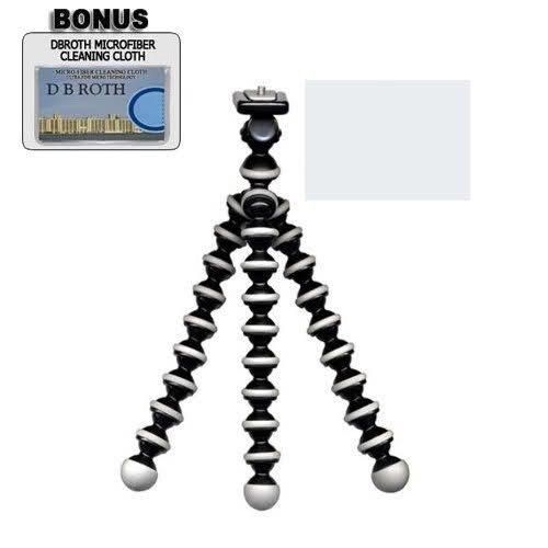 Flexible Gripster Tripod For The Sony NEX-6, NEX-5R, NEX-F3, SLT-A37, ALT-99, DSC-RX1 Digital SLR Camera by GBROTH