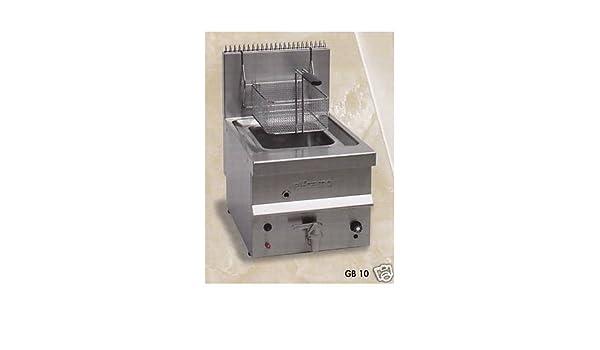 Freidora profesional 1 litros depósito de gas de 10 cm 40x60x36-65 RS1058: Amazon.es: Industria, empresas y ciencia