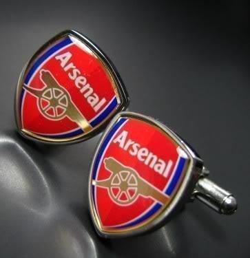 easygoal-Men's Cufflink World Cup s Cuff Links Arsenal Football club