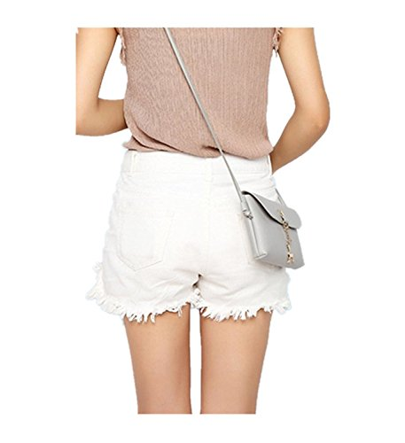 Bags Pendant Shoulder Grey Deer Women Bag Yuan Small Handbag Body Cross ZwAnCqOg