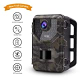 Accfly Trail Camera,16MP Game Camera 1080P HD Motion Activated Wildlife Trail Cam with Night Vision,42pcs IR LEDs and 2.4'' LCD Display IP66 Waterproof Hunting Camera