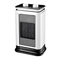WGFGXQ Ceramic PTC Heater, 1500W Household Energy-Saving Heater, Shaking Head Electric Fan.