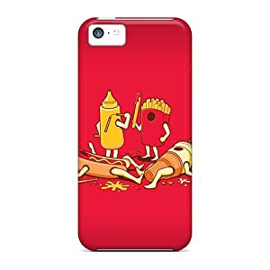 High Quality Sfp6192cQSs Food Fight Cases For Iphone 5c