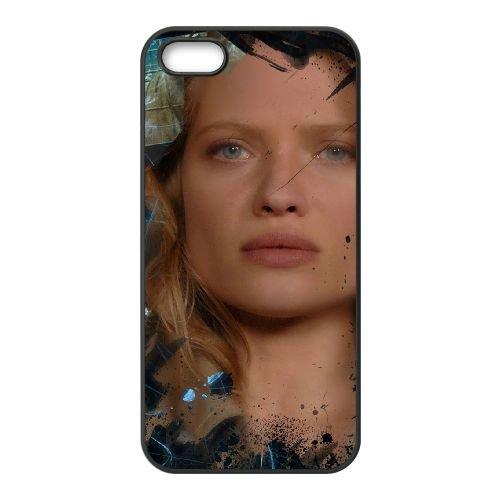 Babylon Ad 5 coque iPhone 5 5S cellulaire cas coque de téléphone cas téléphone cellulaire noir couvercle EOKXLLNCD21929