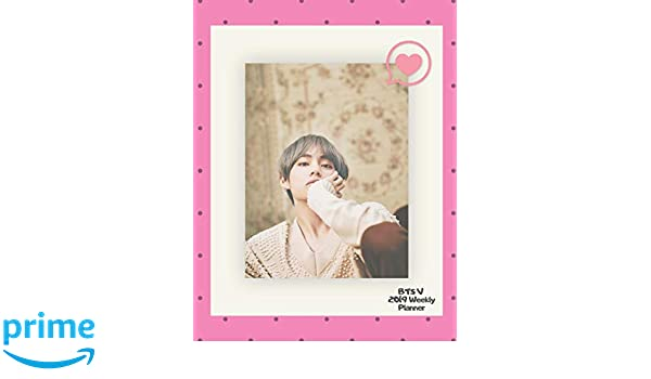 BTS V 2019 Weekly Planner: Kim Tae-hyung Weekly & Monthly ...