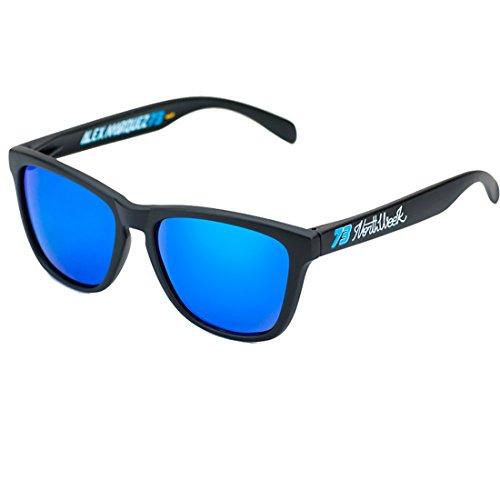 Edition polarisée Special Lunettes Alex Marquez Northweek soleil Moto2 Unités de lentille bleu vaq0WZ