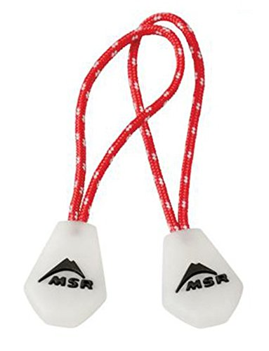 - MSR Night Glow Zipper Pulls, 2-Pack