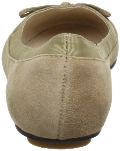 Buffalo London 207-3562 KID SUEDE 135340 Damen Ballerinas Beige (WHITE 09)