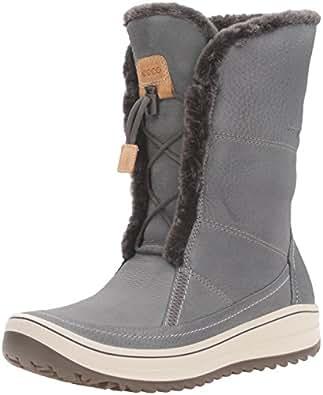 Amazon.com | ECCO Women's Trace Tie Snow Boot | Snow Boots