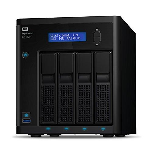 Western Digital Diskless My Cloud EX4100 Expert Series 4-Bay NAS Festplatte - LAN - WDBWZE0000NBK-EESN