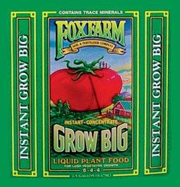 FoxFarm FX14009 5-Gallon FoxFarm Grow Big Liquid Concentrate 6-4-4 by Fox Farm