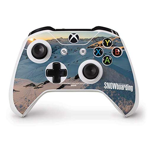 Skinit Snow Xbox One S Controller Skin - The Enthusiast Network Skin - Ultra Thin, Lightweight Vinyl Decal Protection ()