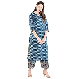 HARSHANA Women's Cotton Salwar Suit