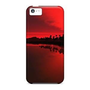 NikRun Slim Fit Tpu Protector SvSHN312cEwXw Shock Absorbent Bumper Case For Iphone 5c