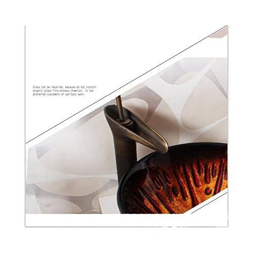 hot sale 2017 BL- Modern minimalist glass wash basins/wash basin/Bath set (42014519mm) , basin + faucet and accessories