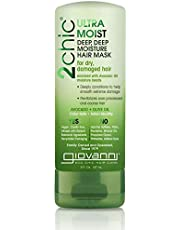 Giovanni 2chic Avocado and Olive Oil Ultra-Moist Deep Moisture Hair Mask, 147ml