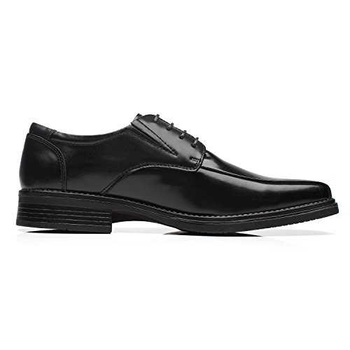 Loaf Dress Classic Shoes Casual Business Leather Comfortable Milano Loafers 2 Slip On Men La for Men's black fA6n18Av