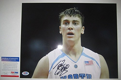 Tyler Hansbrough North Carolina - Autographed Tyler Hansbrough Signed North Carolina Tar Heels 11x14 Photo With - PSA/DNA Certified