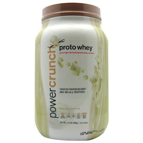 Power Crunch – Whey Protein Vanilla Creme 2 Lb