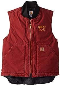 NCAA Iowa State Cyclones Men's Sandstone Vest, Dark Red, Medium