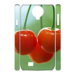 ALICASE Diy Case Cherry Cover For Samsung Galaxy S4 i9500 [Pattern-1]