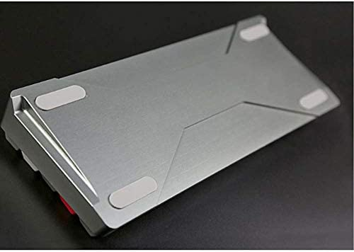 64-Key Clavier mécanique, Cerise Axis Gaming Keyboard avec Clavier en Alliage d'aluminium RVB Plug-in