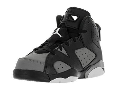 KID'S JORDAN 6 RETRO BP, BLACK/WHITE/COOL GREY,US (Shox R4 Mesh)