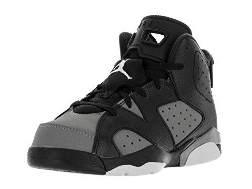 Nike Jordan Barn Jordan 6 Retro Bp Basketball Sko Svart / Hvitt-turbo Grønne