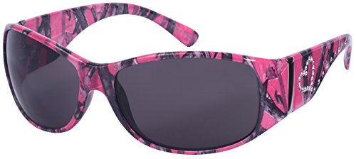 Edge I-Wear Women's Wrap Style Sunglasses with Camo Design(D.PK.sd)]()