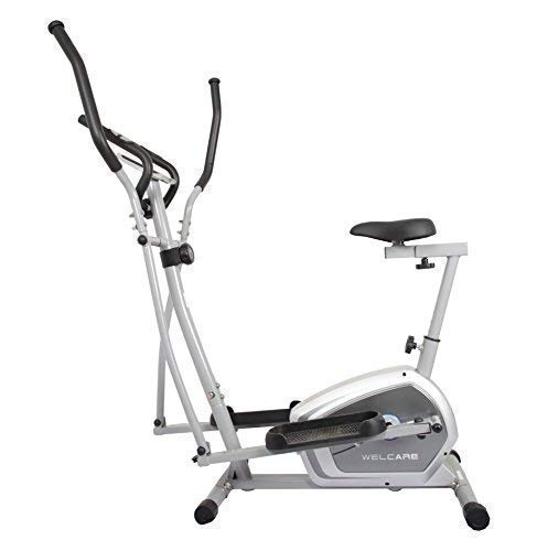 Welcare Elliptical Cross Trainer WC6044 with Adjustable seat,...