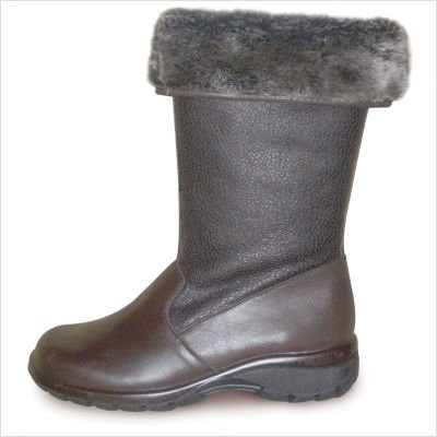 Toe Warmers Women's Shelter Boots Dark Brown 9.5 M