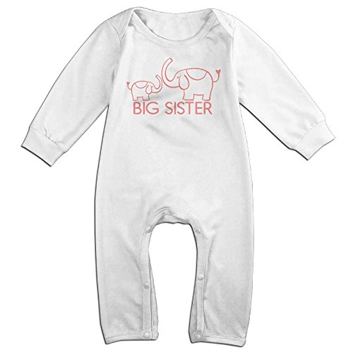 Magic Man Costume Adventure Time (Newborn Baby Big Sis Elephants Long Sleeve Climb Clothes 18 Months White)